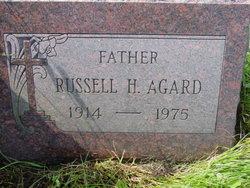 """Russell Hansen """"Tubby"""" Agard"""