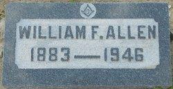 """William Franklin """"Lovebird"""" Allen"""