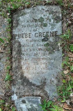 Phebe <I>Dyer</I> Greene