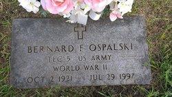 Bernard F Ospalski