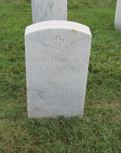 Arthur W Cooper