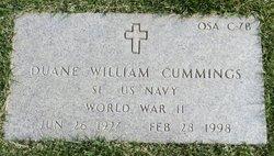 Duane William Cummings