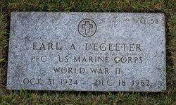Earl A Degeeter