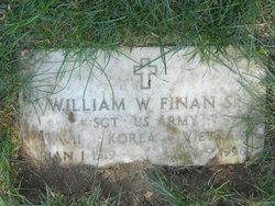 William W Finan, Sr