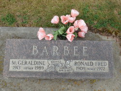 Ronald Fred Barbee