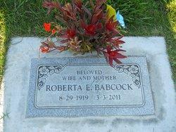 Roberta Elaine <I>Cooley</I> Babcock
