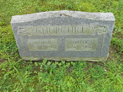 "Harriet ""Hattie"" <I>Fritch</I> Churchill"