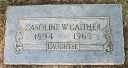 Caroline Wallace Gaither