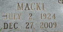 """Maxine """"Macki"""" <I>Purdle</I> Miller"""