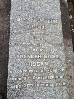 Frances Hilda <I>Carney</I> Hogan
