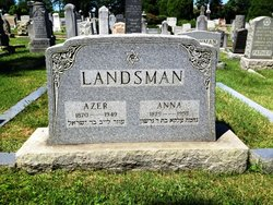 Anna <I>Shuffinowitz</I> Landsman