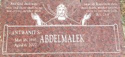Antwanit S Abdelmalek