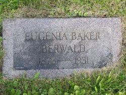 Anna Eugenia <I>Baker</I> Berwald