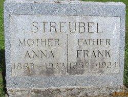 Anna <I>Nitschke</I> Streubel