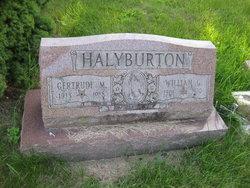 Gertrude Marie <I>Brummer</I> Halyburton