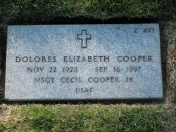 Dolores Elizabeth Cooper