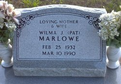 "Wilma Jean ""Pat"" <I>Rice</I> Marlowe"