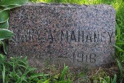 Mary Ann <I>Ostrander</I> Mahaney