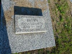 Anna Elizabeth <I>Whorton</I> Brown