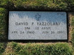 David P Fazzolari