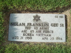 Nolan Franklin Gee, Sr