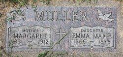 Margaret <I>Berg</I> Muller