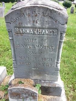 Hannah <I>Handy</I> Mount