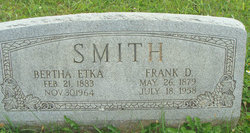 Bertha <I>Etka</I> Smith