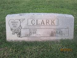 Bertha Mae <I>Lawrence</I> Clark