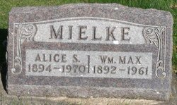 Alice Sarah <I>Snyder Nichols</I> Mielke