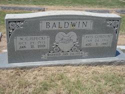 Avis Marie <I>Gordon</I> Baldwin
