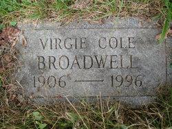 Virgie <I>Cole</I> Broadwell