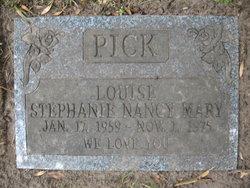 Louise Stephanie Nancy Mary Pick