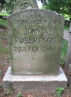 John A Robertson