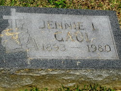 Jennie <I>Metzler</I> Gaul