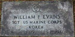 """William Franklin """"Frank"""" Evans, Sr"""