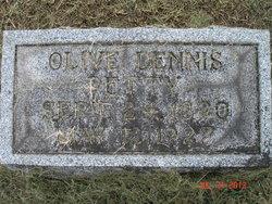 Cora Olive <I>Dennis</I> Petty