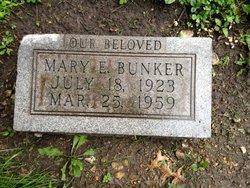 Mary E. Bunker