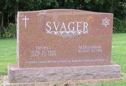 Thyrsa <I>Frazier</I> Svager