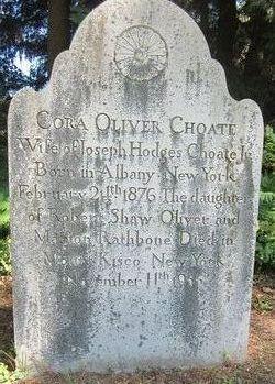 Cora Lyman <I>Oliver</I> Choate