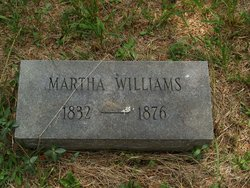 Martha <I>Dodson</I> Williams