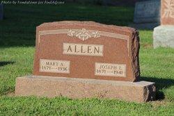 Mary Amanda <I>Rinehart</I> Allen