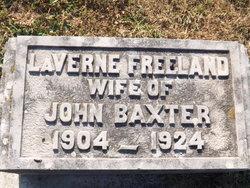LaVerne <I>Freeland</I> Baxter