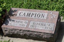 """Catherine O """"Kay"""" <I>Deininger</I> Campion"""
