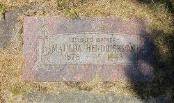 Matilda Hendrickson