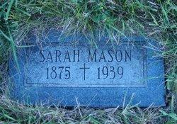 Sarah <I>O'Donnell</I> Mason