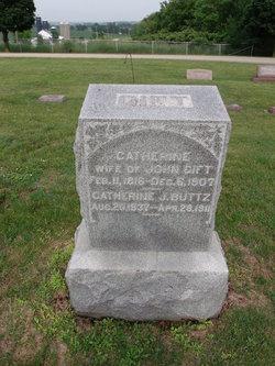 Catherine J Buttz