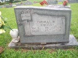 "Thomas William ""Tommy"" Cross"