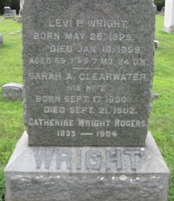 Sarah A <I>Clearwater</I> Wright