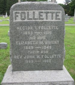 M. Elizabeth <I>Wright</I> Follette